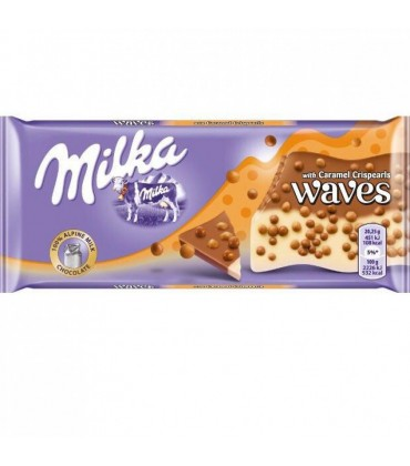 Milka Waves Caramel 81 г.