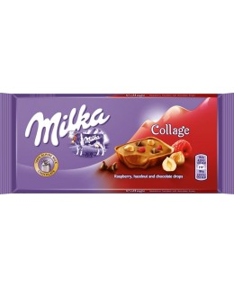 Milka Collage Raspberry 93 г
