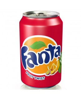 Fanta Fruit Twist 0,33 мл.